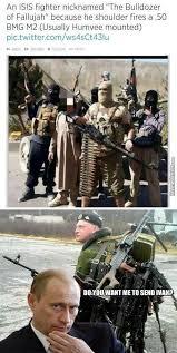 Bulldozer Meme - ivan vs isis you see ivan know your meme