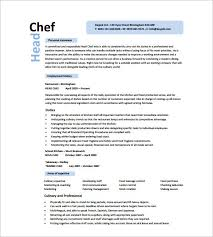 executive chef resume template vasgroup co
