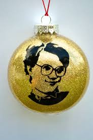 stranger things christmas ornament barb funny present for