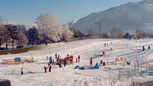 tourbillon sports centre children s snow playgrounds in sion