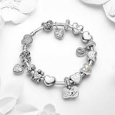 bangle style charm bracelet images Pandora bracelets and charms best 25 pandora bangle ideas on jpg