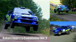 subaru gc8 rally subaru impreza rally car compilation vol 3 youtube