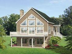 A Frame House Plans With Basement W3914 V3 A Frame Rustic Country Cottage 2 Family Rooms 4 Beds