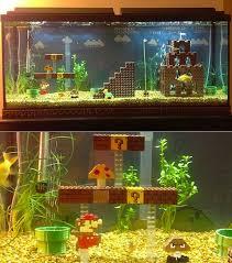 mario aquarium i would prefer one out of legos home