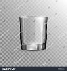 martini transparent background empty drinking glass cup isolated on stock vector 447978997