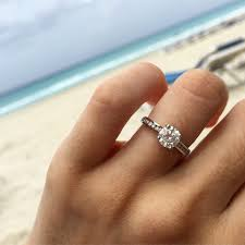 real diamond engagement rings 40 engagement rings real brides said yes to martha stewart