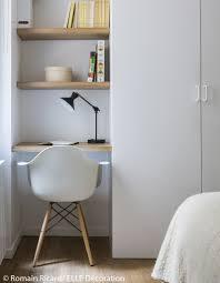bureau dans chambre visite en 3d d un appartement malin de 40 m décoration