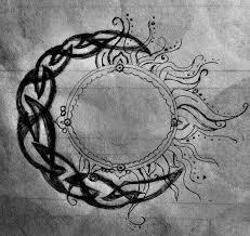 moon moon solid tattoos colorful hindu celtic sun celtic