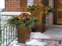 Make Your Own Outdoor Lighted Christmas Decorations by How To Make Your Own Outdoor Holiday Planter Planters