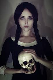 Scary Halloween Looks Best 25 Wednesday Addams Makeup Ideas Only On Pinterest