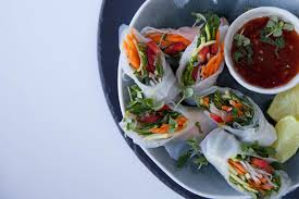 where to buy rice paper wraps canapé ideas minty vegetable and rice paper rolls