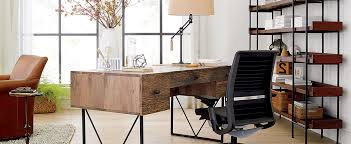 Organizing An Office Desk Home Office Organization Ideas Crate And Barrel