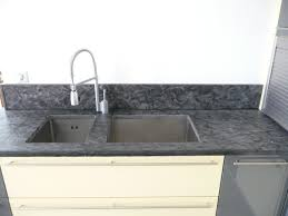 gres cerame plan de travail cuisine plan de travail en granit matrix azur