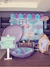 ideas para una piñata con el tema de sirenita mermaid fiestas