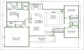 open house plan open floor plan small house small home floor plans open decorating