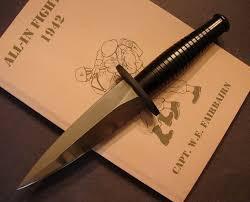 custom f s knives the fairbairn sykes fighting knives