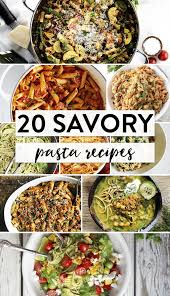 Pasta Recipes by 20 Savory Pasta Recipes Best Of The Web The Bewitchin U0027 Kitchen