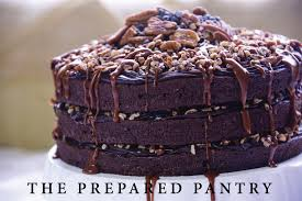 how to make a fine chocolate turtle cake u2013 the prepared pantry