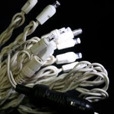 12 volt led light set warm white white wire