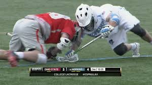 face off film room jake withers vs johns hopkins youtube