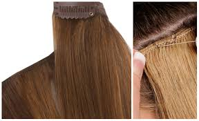 weave hair extensions difference between weave hair extensions and clip in hair
