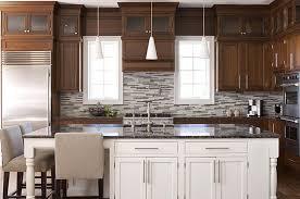2 Tone Cabinets Contemporary Kitchen Elissa Grayer Design