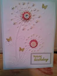 124 best embossed cards images on pinterest embossed cards