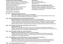 Hvac Technician Resume Examples by Hvac Tech Resume Sample 100 Tech Resumes Winsome Ideas Automotive