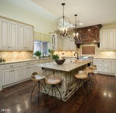 gorgeous l shape kitchen decoration design ideas with bird nest gorgeous l shape kitchen decoration design ideas with bird nest brass chandelier solid wood kitchen island with seating and round wood dining chair