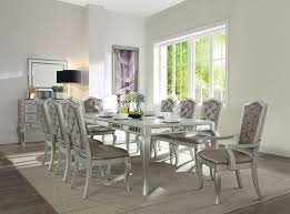 62080 acme dining set francesca collection champagne finish