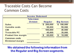 variable costing and segment reporting tools for management ppt