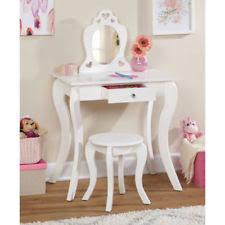 Guidecraft Classic White Vanity And Stool Kids Vanity Table Ebay
