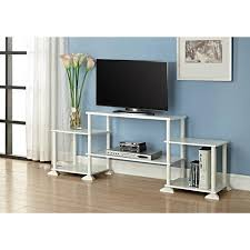 no tools assembly desk mainstays no tools 3 cube storage entertainment center for tvs up to