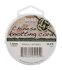 knotting cord beadsmith knotting cord joann