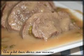 cuisine langue de boeuf p tite langue de boeuf sauce brune aux cornichons un p tour