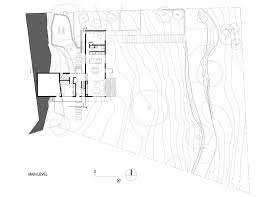 house plan galeria de casa hillside shands studio 15 ground