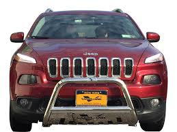 jeep front grill guard 14 18 jeep cherokee front bull bar bumper grill protector guard s s