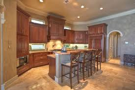 Kitchen Island With Sink And Dishwasher by Kitchen 20x11 With Custom Kraftmaid Cabinetry Slab Granite