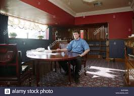 dining room manager september 1993 dundee manager simon stainrod stock photo royalty