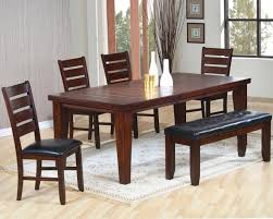 Dark Kitchen Tables by Mahogany Dining Table And 6 Chairs Sale Wood Stripe Upholstered