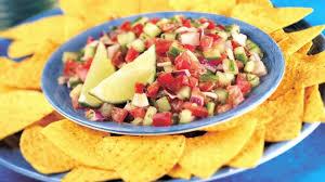 cuisine latine salsa nachos tortilla chips hd stock 586 699 474