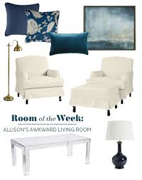 layout for an awkward small living room decorate