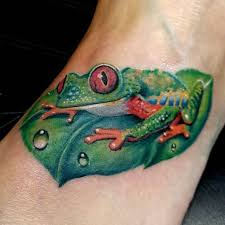 40 frog tattoos collection