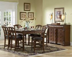 english manor counter height dining room set counter height