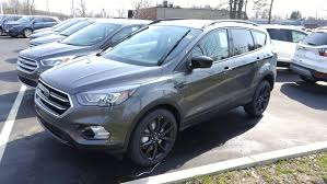 Ford Escape Black - picture request 2017 titanium 301a in magnetic with black wheels