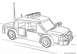 lego police car coloring pages printable