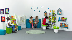 reading corners encouraging children to read for enjoyment
