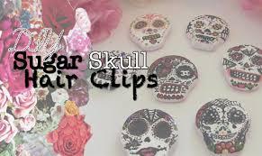 diy sugar skull hair
