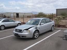 Audi A 6 2003 2003 Audi A6 2 7t 6 Speed Maual 85 Miles Silver Black