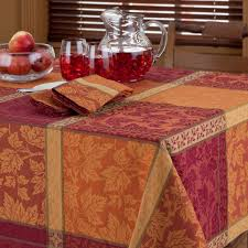 fall tablecloths ideas home decorations